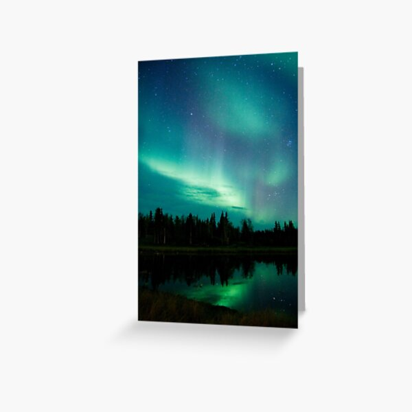 Northern Lights 1 Greeting Card