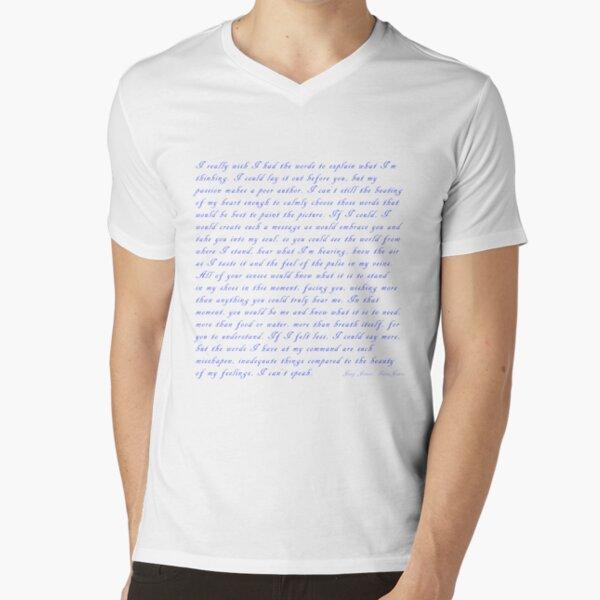 My Words by Joey Jones IdeaJones V-Neck T-Shirt