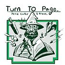 Turn to Page show art by jessie cooper