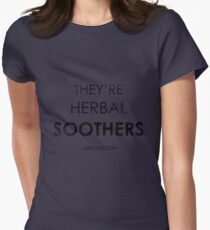 They're Herbal Soothers Womens Fitted T-Shirt