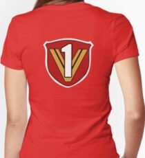Lightspeed Rescue - Rescue 1 Women's Fitted V-Neck T-Shirt