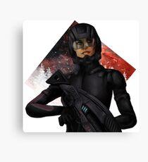 Recruit Shepard Canvas Print