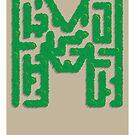 M is for Maze by Jason Jeffery