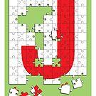 J is for Jigsaw by Jason Jeffery