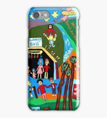 Bushwackers songs mural1 iPhone Case/Skin