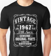 AWESOME BORN IN 1967 Unisex T-Shirt