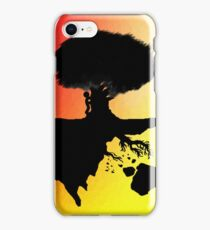 Silhoutte Island iPhone Case/Skin