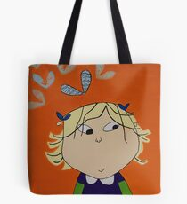 Lola with Butterfly Kisses Tote Bag