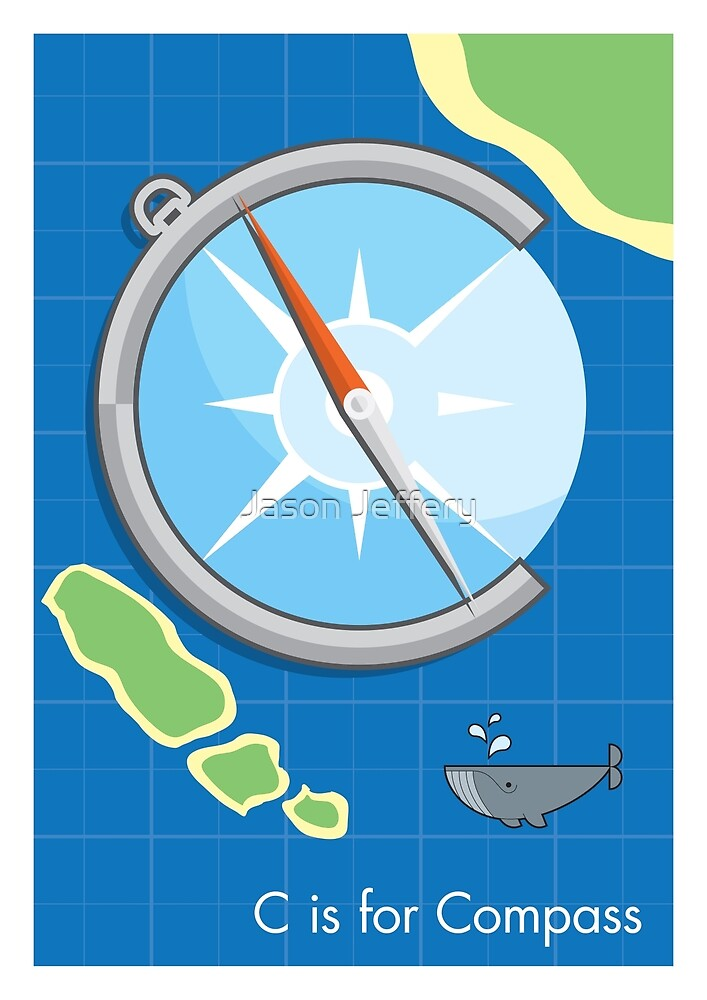 C is for Compass by Jason Jeffery