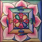 Mandala-Compassion by vickievansart