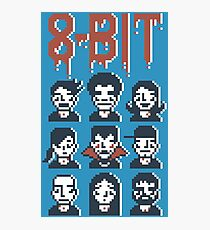 8-Bit By A Vampire Photographic Print