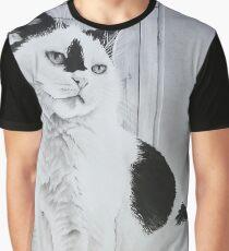 """""""Toots"""" - Cat portrait Graphic T-Shirt"""