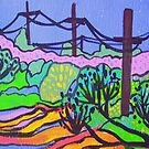 Poles & Wires by marlene veronique holdsworth