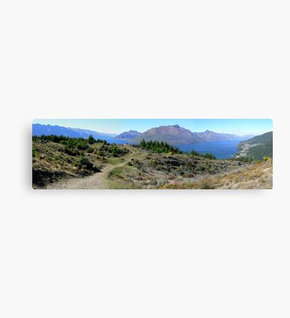 Queenstown panorama Canvas Print