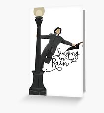 Singing in the Rain - Movie Greeting Card