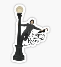 Singing in the Rain - Movie Sticker