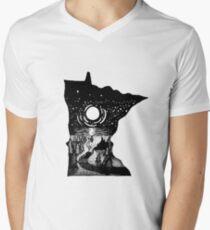 Minnesota Men's V-Neck T-Shirt