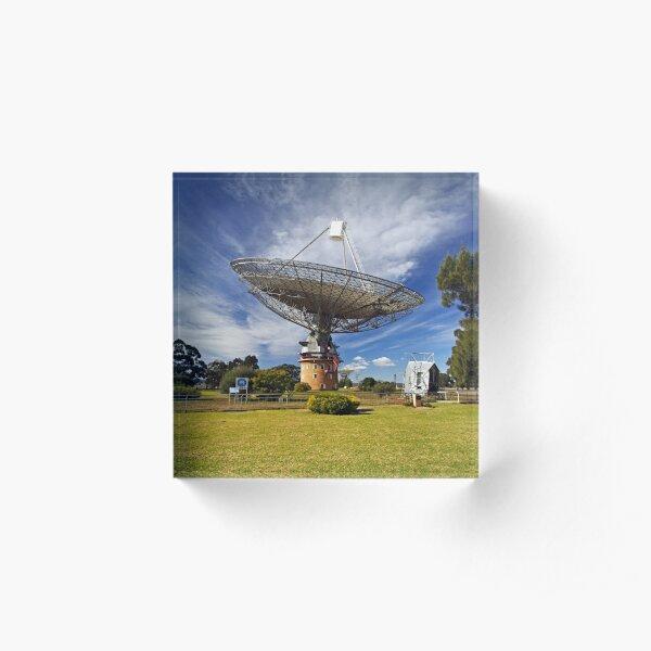 Parkes Observatory Acrylic Block