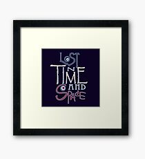 Lost In Time & Space Framed Print