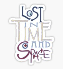 Lost In Time & Space Sticker