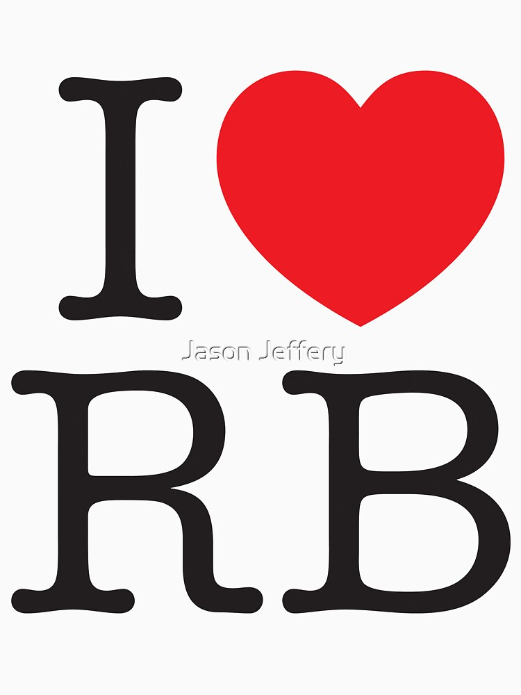 I Heart RB by Jason