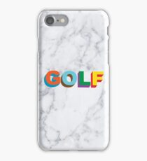 GOLF WANG MULTI-COLOR 3D LOGO iPhone Case/Skin