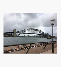 Harbour Bridge, Sydney, Australia  Photographic Print