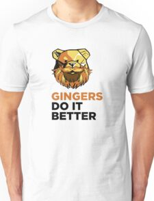 ROBUST Ginger bears black Unisex T-Shirt