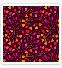 Floral seamless pattern. Flowers Sticker
