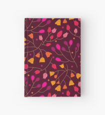 Floral seamless pattern. Flowers Hardcover Journal