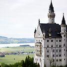 Schloss Neuschwanstein by Vickie Simons
