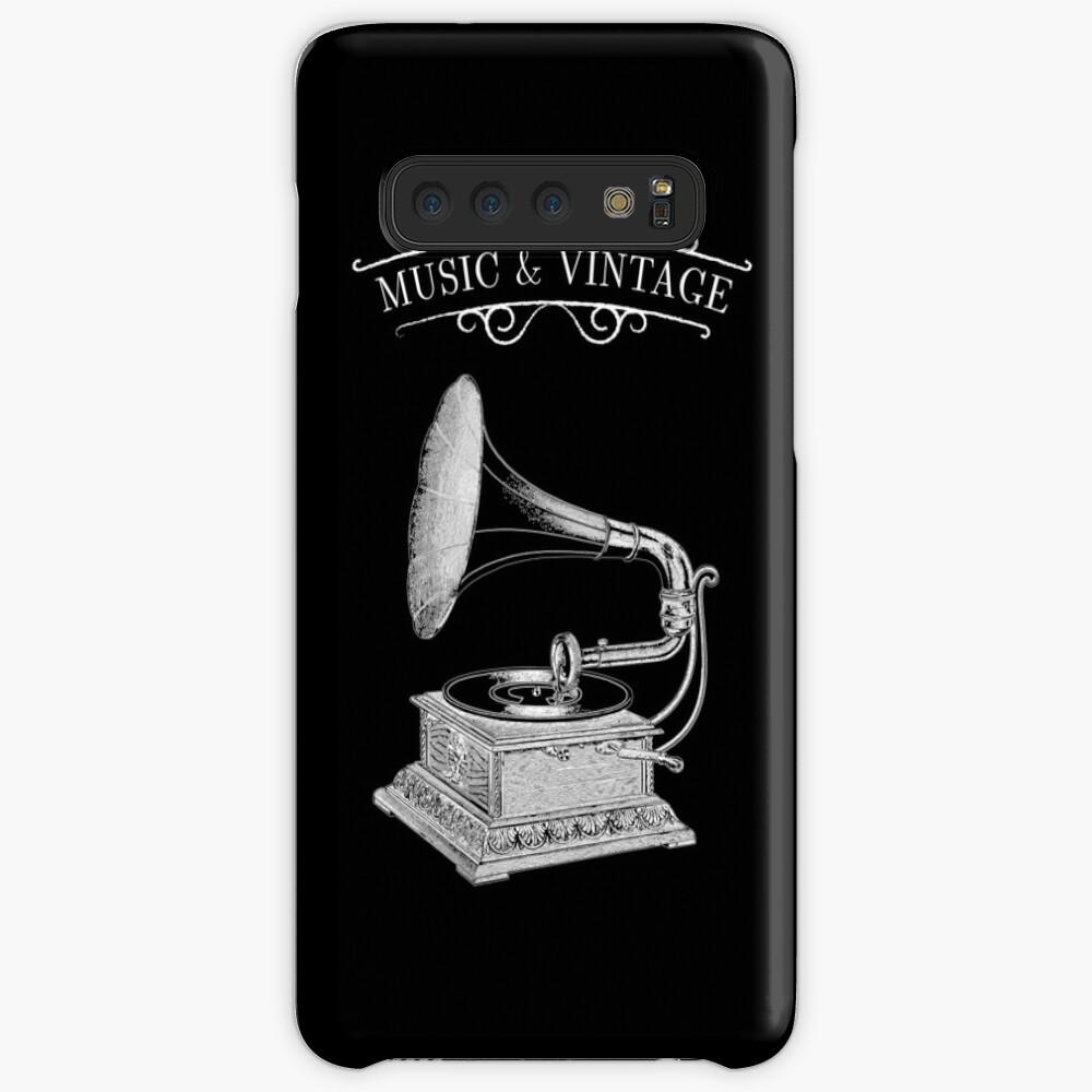 Music & Vintage Case & Skin for Samsung Galaxy