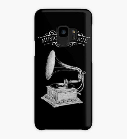 Music & Vintage Case/Skin for Samsung Galaxy
