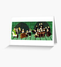 Sister Act-Nun Mug Greeting Card