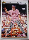 248 - Dick Schofield by Foob's Baseball Cards