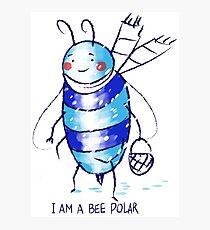 bee polar Photographic Print