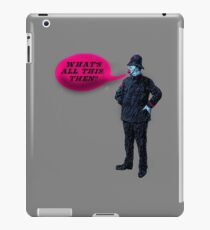 What's All This, Then? iPad Case/Skin