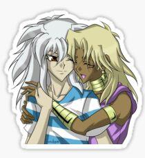 Thiefship hugs Sticker