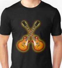 Double Gibson Les Paul Guitar Shirt Men Unisex T-Shirt