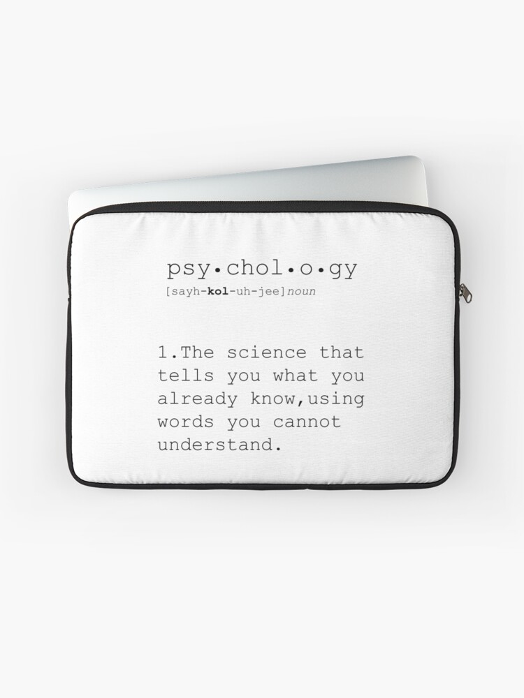 Psychologie Psychologiegeschenke Psychologiedefinition Lustige Definition Minimalistisches Plakat Zitatdruck Lustige Zitate