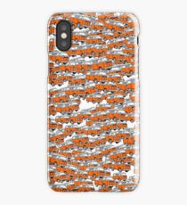 Multi Layer Bay Window Campervan Orange iPhone Case/Skin