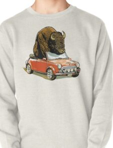 Bison in a Mini. Pullover