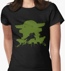 Gaius – Green Women's Fitted T-Shirt