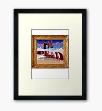 I'm dead Framed Print