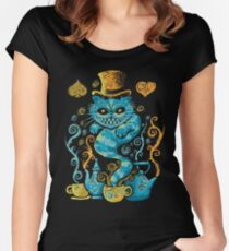 Wondercat Impressions Fitted Scoop T-Shirt