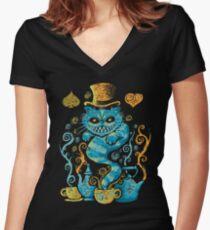 Wonderland Impressions Women's Fitted V-Neck T-Shirt