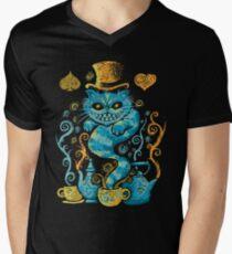 Wondercat Impressions Men's V-Neck T-Shirt