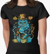 Wondercat Impressions Women's Fitted T-Shirt
