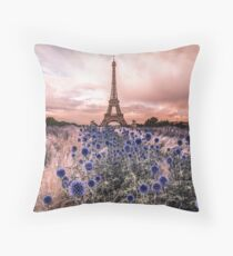 Eiffel Tower, Paris - France  Throw Pillow
