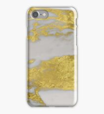 Agria - bright golden marble iPhone Case/Skin